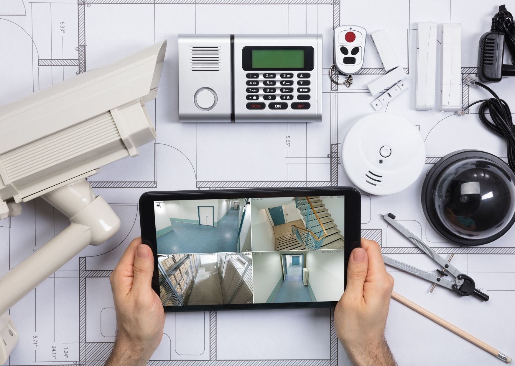 Home Safety- Benefits Of Installing Security Systems