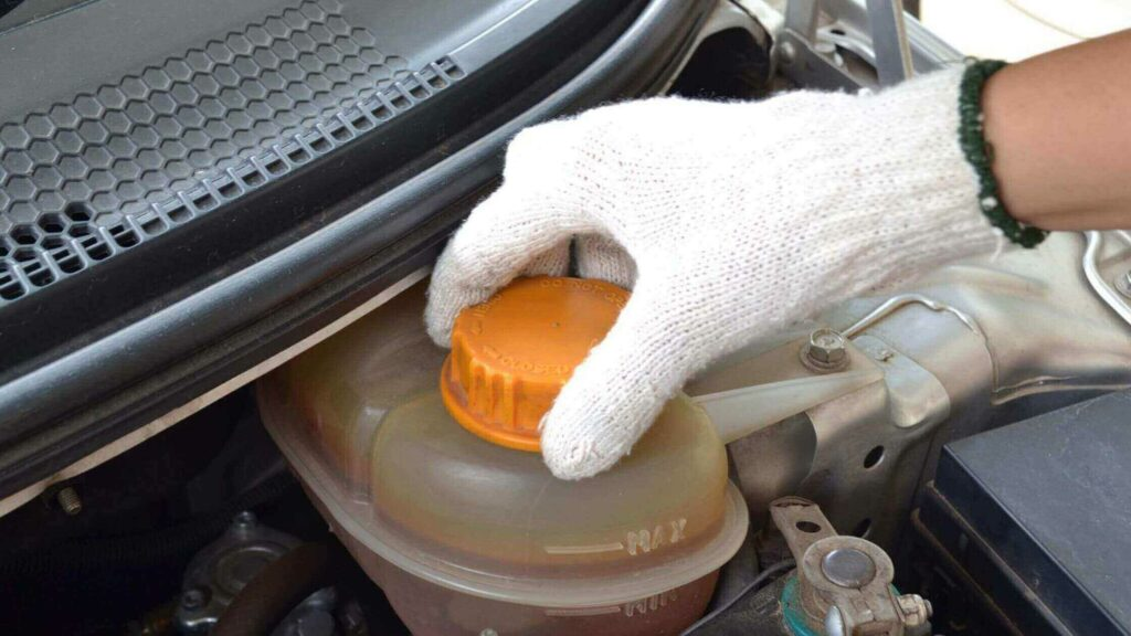 car's coolant and radiator
